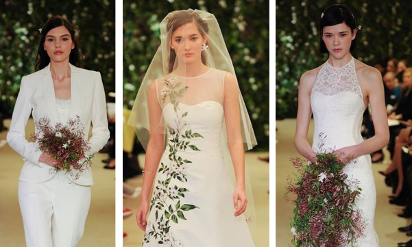 Carolina Herrera's Spring 2016 Bridal Collection