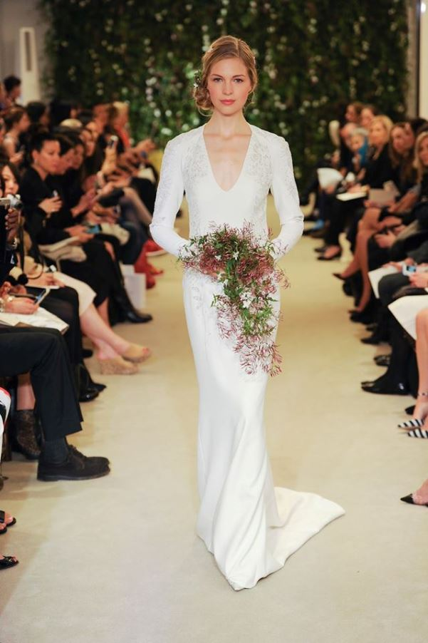 Carolina Herrera Spring 2016 Bridal Collection LoveweddingsNG16