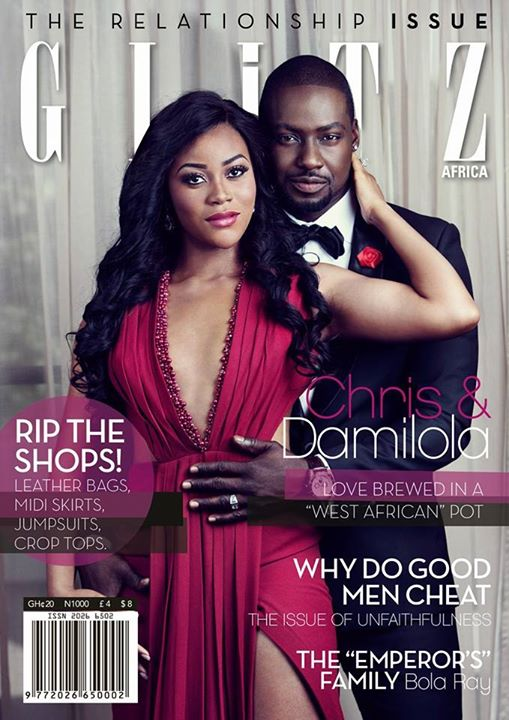 Damilola Adegbite and Chris Attoh Glitz Magazine LoveweddingsNG3