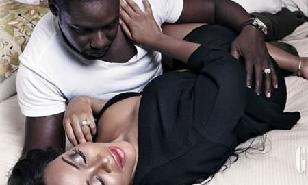 Damilola & Chris Attoh cover Glitz Africa Magazine's Latest Issue
