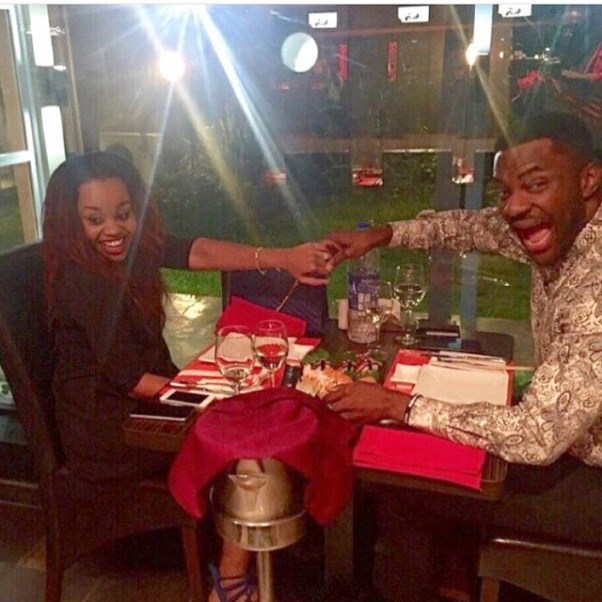 Ebuka Cynthia Engaged LoveweddingsNG