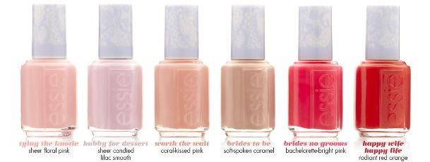 Essie 2015 Bridal Polish Collection - LoveweddingsNG feat