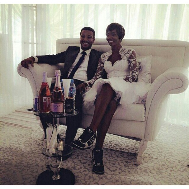 Ivie Ojukaye and Ezie White Wedding LoveweddingsNG