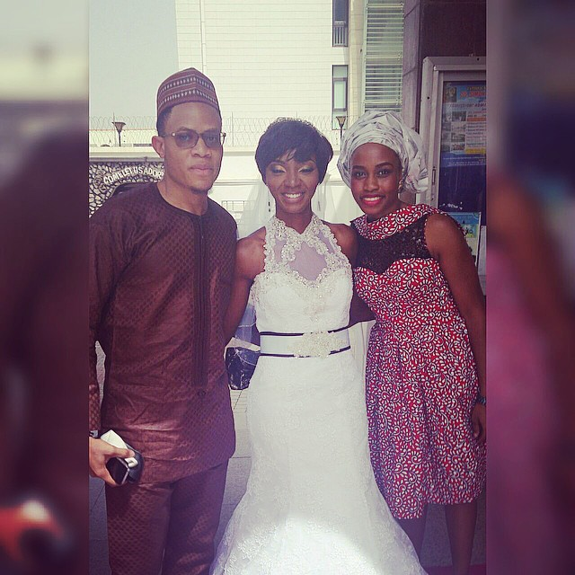Ivie Ojukaye and Ezie White Wedding LoveweddingsNG1