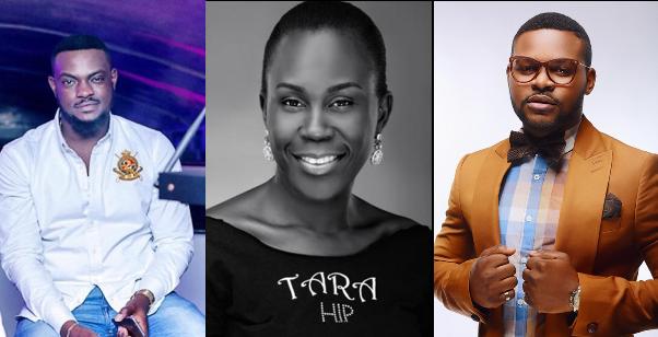 LoveweddingsNG Adebola Pitan, Tara Durotoye and Falz The Bahd Guy