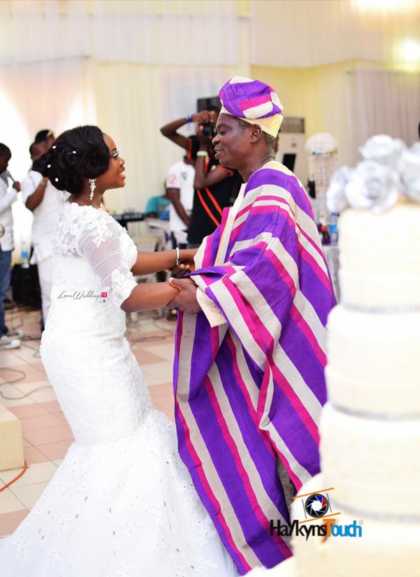 LoveweddingsNG Eniola and Abiodun White Wedding Haykyns Touch2