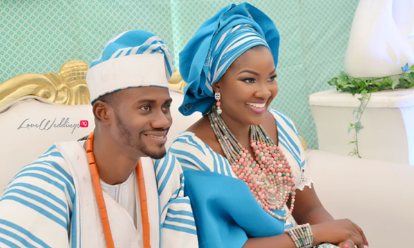 When 2 Weding Vendors Wed: MUA 'Omoge Adumaradan' weds MC Segun Dangote