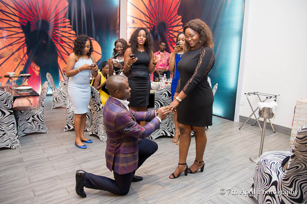 LoveweddingsNG presents Stephanie & Joe's Proposal | 7th April Photography