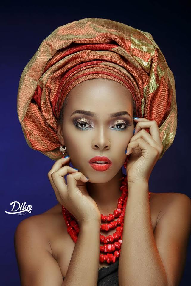 LoveweddingsNG Traditional Bridal Inspiration T.Alamode Makeup