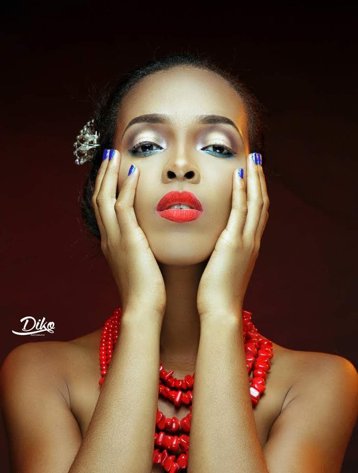 LoveweddingsNG Traditional Bridal Inspiration T.Alamode Makeup2