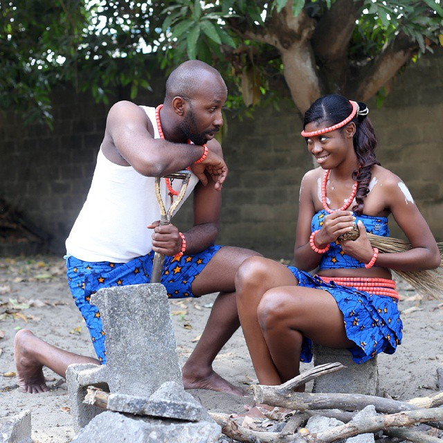 LoveweddingsNG Traditional Prewedding Shoot Omolua and Eugene1