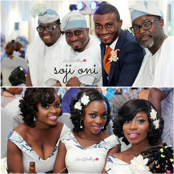 LoveweddingsNG White Wedding Temilade and Segun