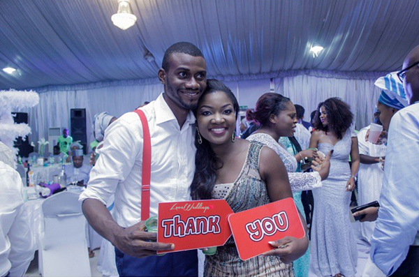 When 2 Weding Vendors Wed: MUA 'Omoge Adumaradan' weds MC Segun Dangote Part 2