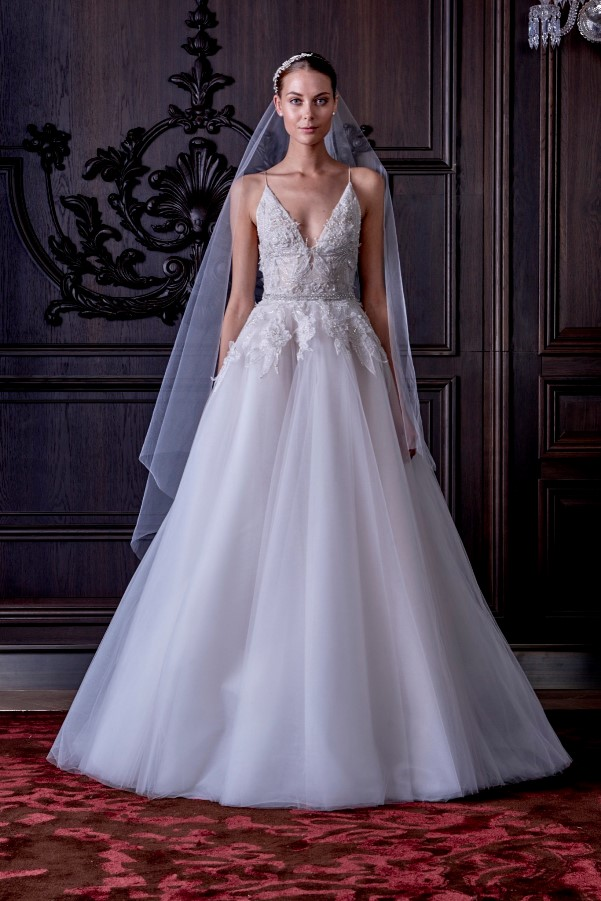 Monique Lhuillier's Spring 2016 Bridal Collection - LoveweddingsNG