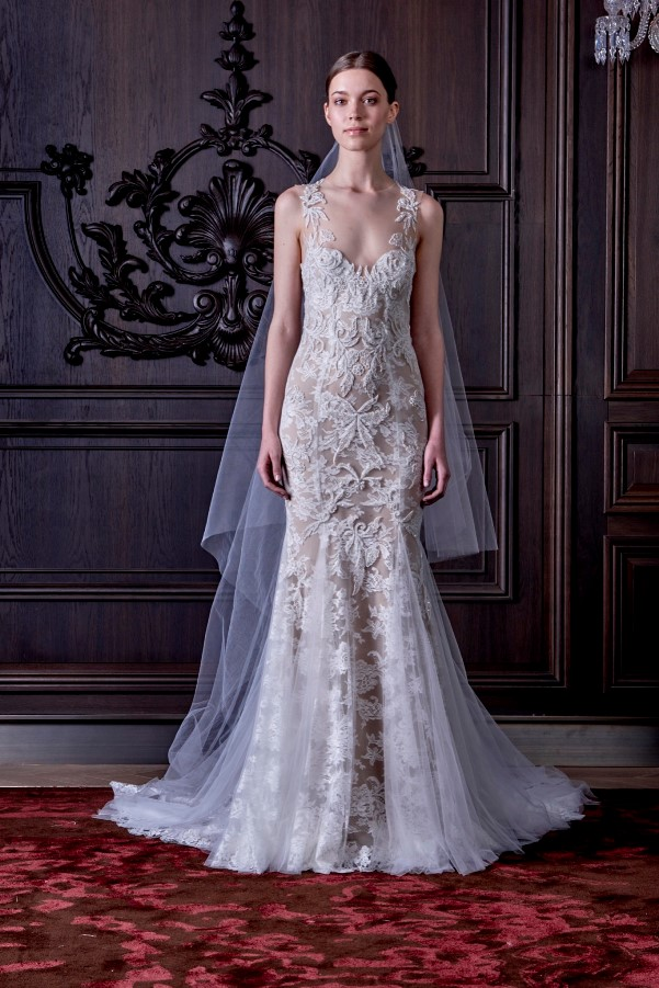 Monique Lhuillier's Spring 2016 Bridal Collection - LoveweddingsNG1