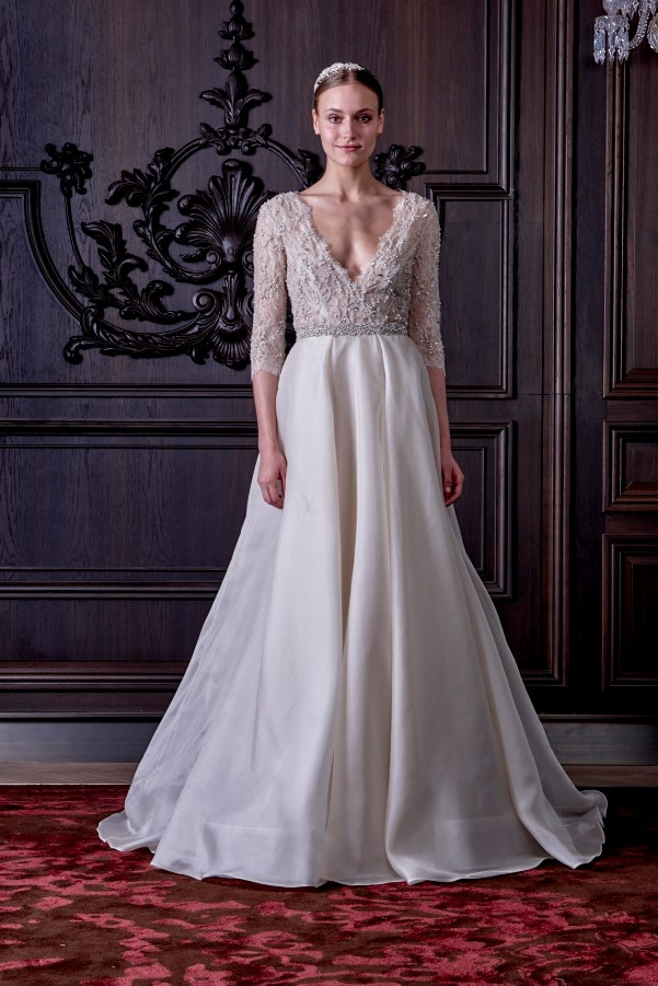 Monique Lhuillier's Spring 2016 Bridal Collection - LoveweddingsNG2