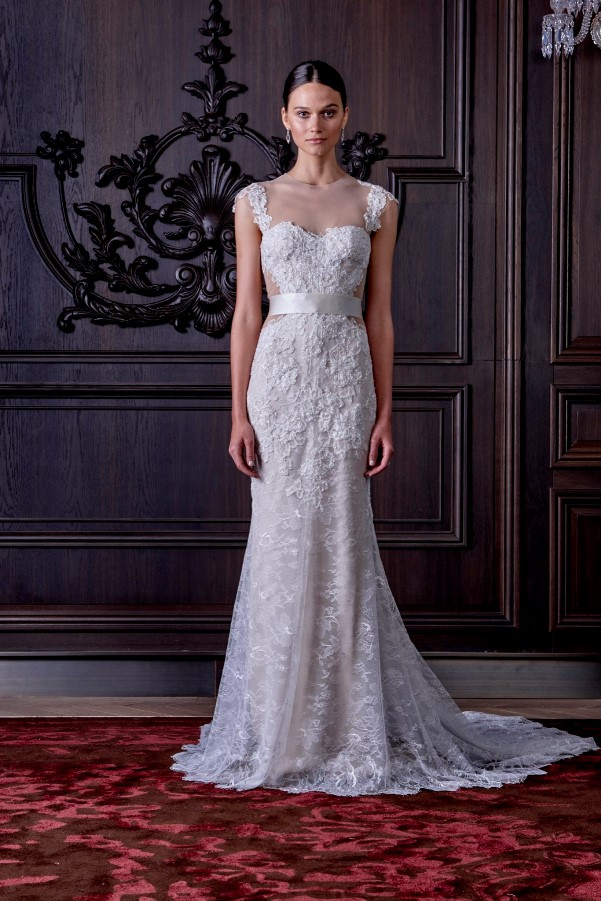 Monique Lhuillier's Spring 2016 Bridal Collection - LoveweddingsNG8