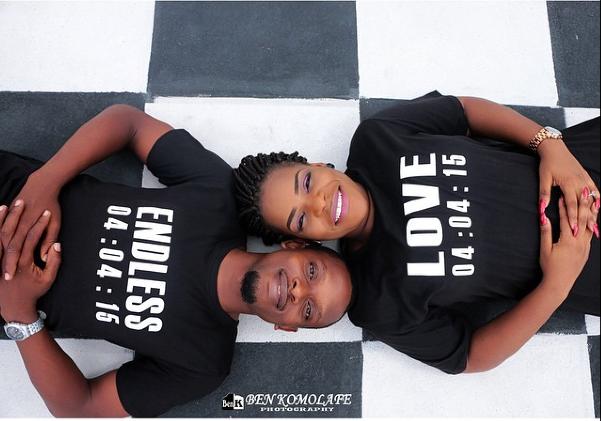 Nigerian Save The Date Prewedding Shoot