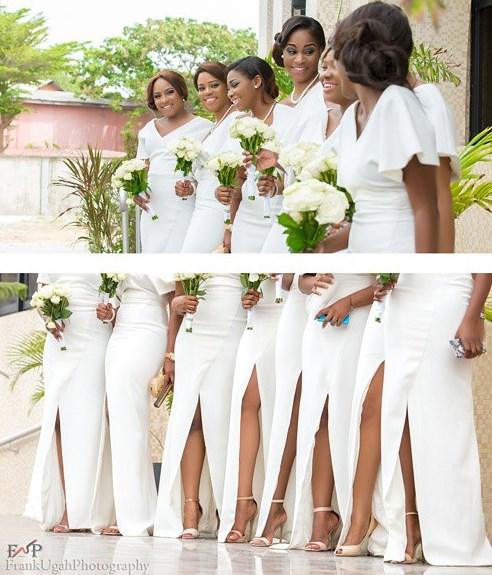 Onyinye Carter Bosah Chukwuogo Wedding -Bridesmaids Frank Ugah Photography