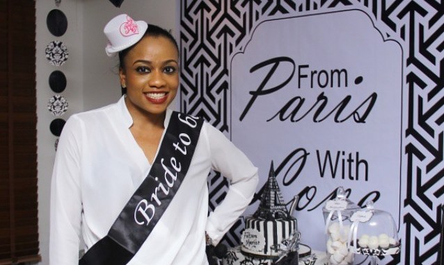 Pictures from Onyinye Carter's 'Paris' themed Bridal Shower