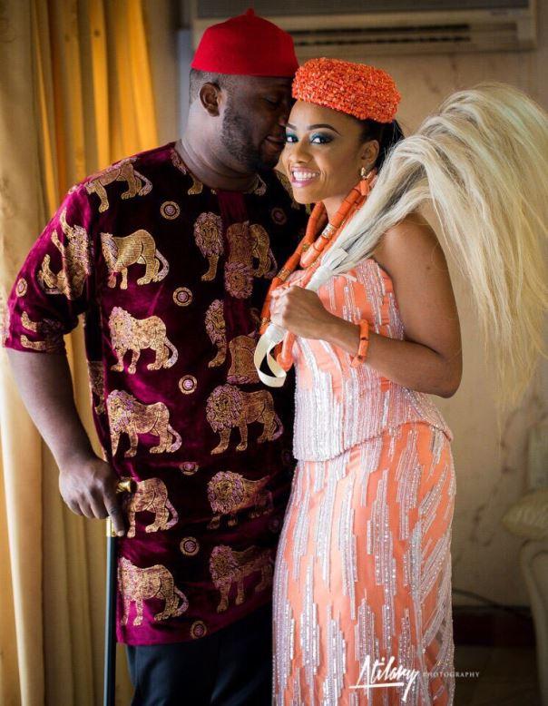 Onyinye Carter and Bosah Chukwuogo Wedding LoveweddingsNG
