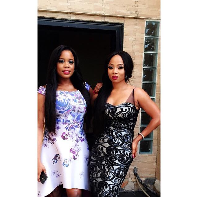 Onyinye Carter weds Bosah LoveweddingsNG - Arese Ugwu, Toke Makinwa