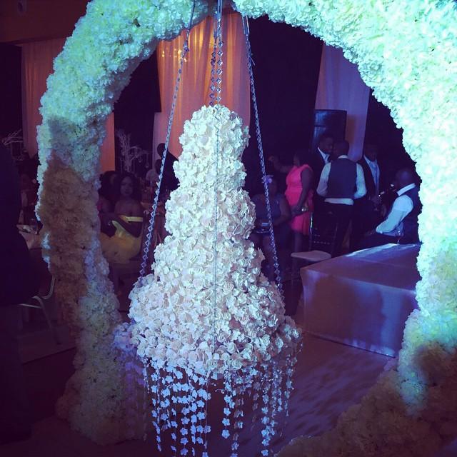 Onyinye Carter weds Bosah LoveweddingsNG - Cake