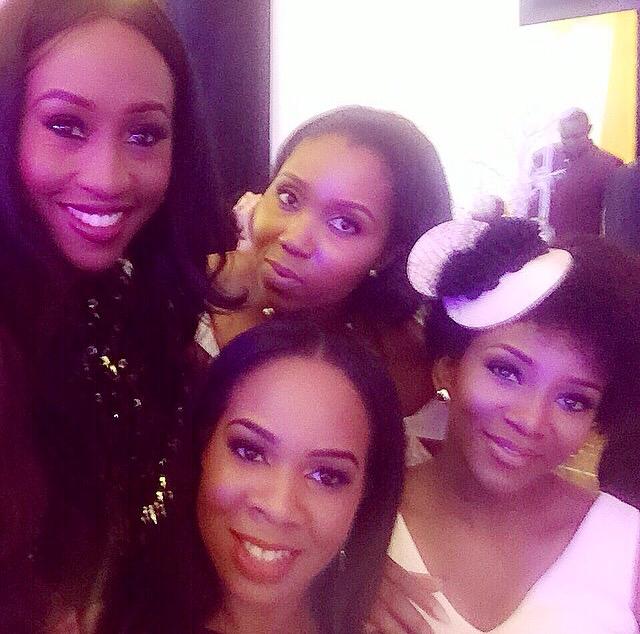 Onyinye Carter weds Bosah LoveweddingsNG - Veronica Odeku, Genevieve Nnaji, Vanessa Amadi, Chinny
