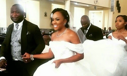 First Pictures from Onyinye Carter and Bosah Chukwuogos's White Wedding