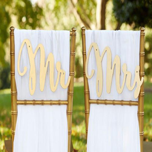 The Artisans Gift Company Anniversary LoveweddingsNG - Mr. & Mrs. Chair Backers