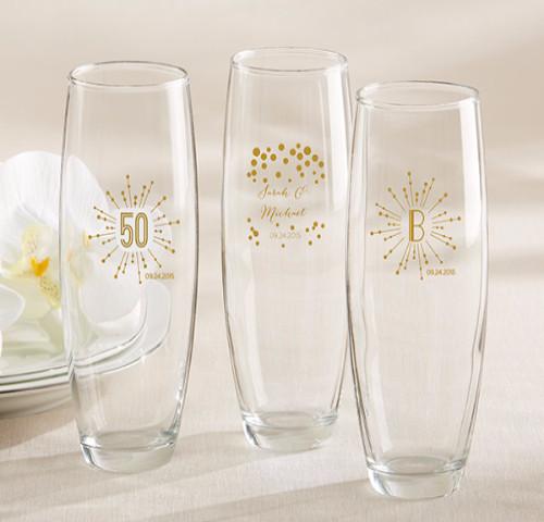 The Artisans Gift Company Anniversary LoveweddingsNG - Stemless Champagne Glass
