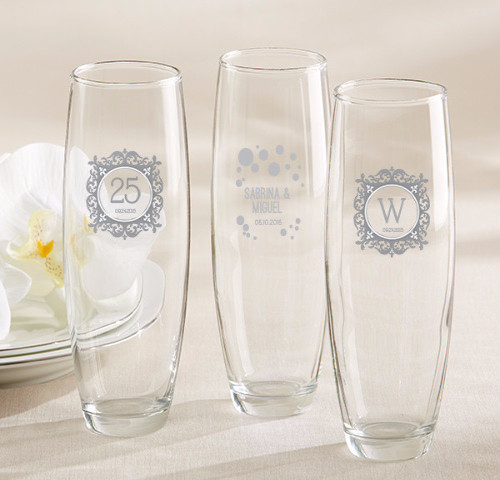 The Artisans Gift Company Anniversary LoveweddingsNG - Stemless Champagne Glass1