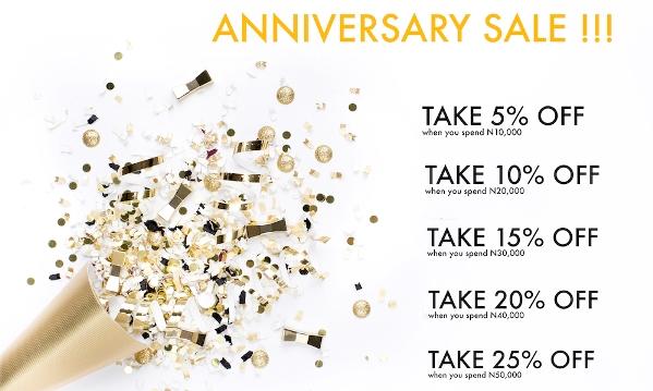 The Artisan's Gift Company (TAGC) Anniversary Sale