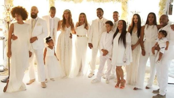 Tina Knowles Richard Lawson Wedding LoveweddingsNG11