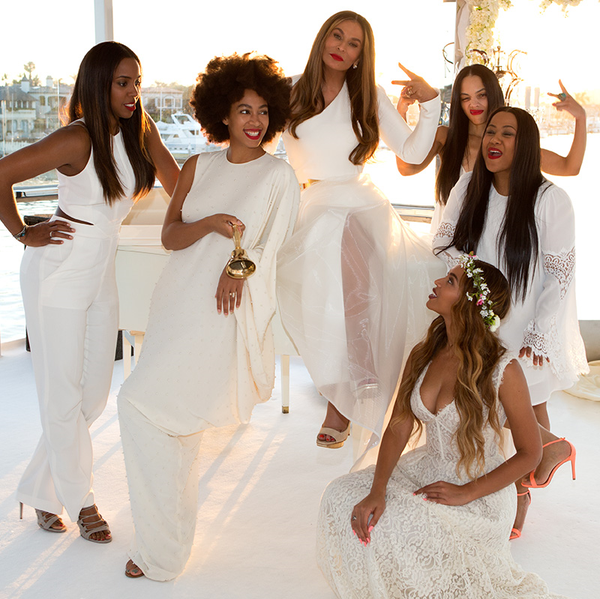 Tina Knowles Richard Lawson Wedding LoveweddingsNG6