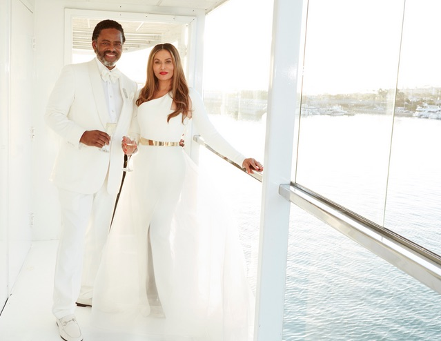 Tina Knowles and Richard Lawson Wedding LoveweddingsNG1