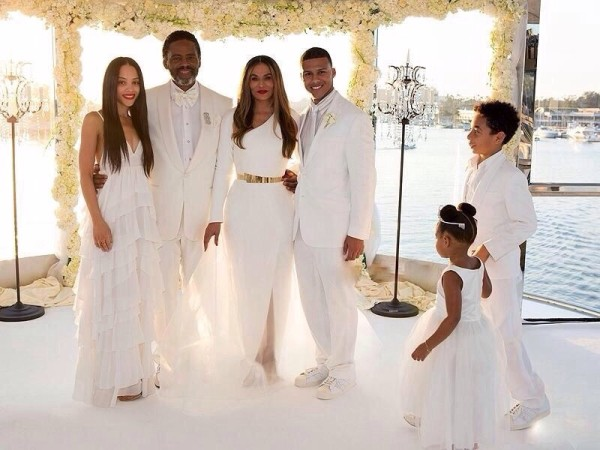 Tina Knowles and Richard Lawson Wedding LoveweddingsNG2