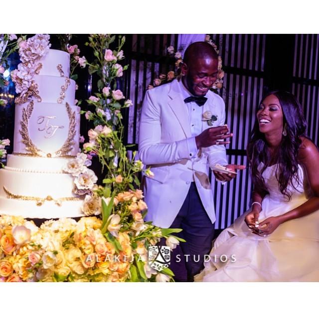 Tiwa Savage Tee Billz Wedding Anniversary LoveweddingsNG1