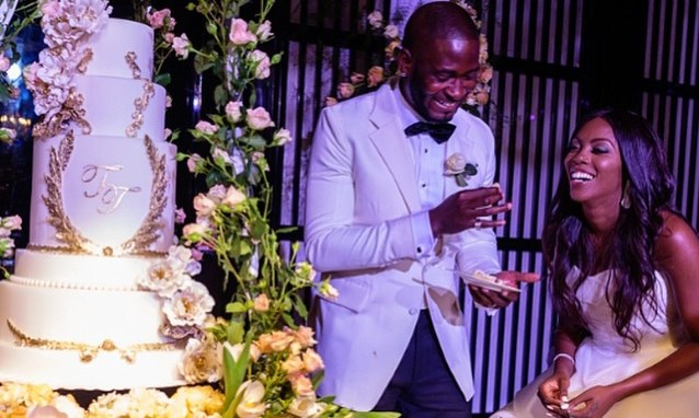 Happy Wedding Anniversary Tiwa Savage & Tee Billz'