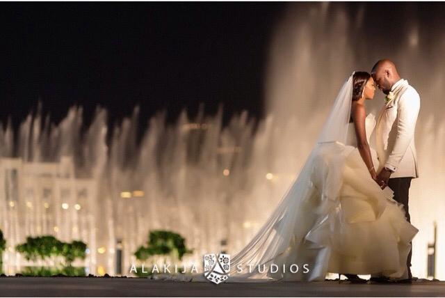 Tiwa Savage Tee Billz Wedding LoveweddingsNG