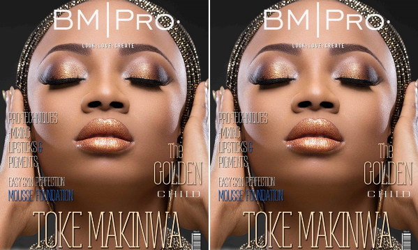 Toke Makinwa BM Pro Covers LoveweddingsNG feat