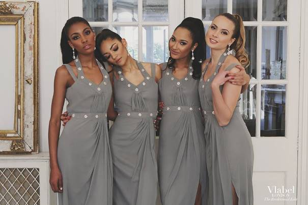 VLabel London The Bridesmaids Edit - Bow Dress LoveweddingsNG