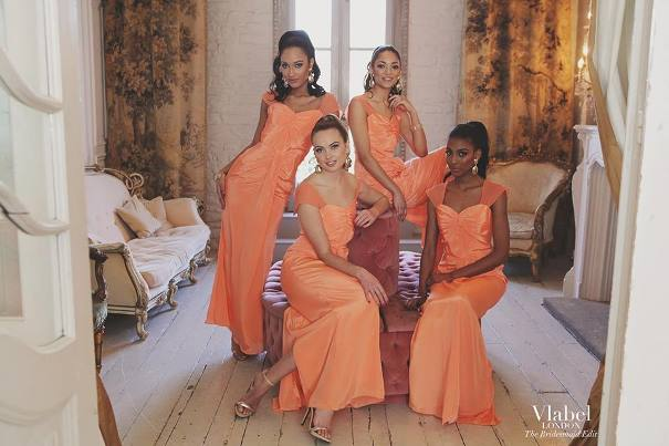 VLabel London The Bridesmaids Edit - Peck Dress LoveweddingsNG
