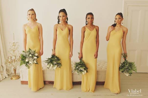 VLabel London The Bridesmaids Edit - River Gold LoveweddingsNG1