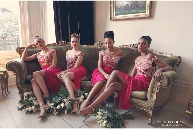 Virgos Lounge Bridesmaid Edit Summer 2015 Berry LoveweddingsNG1
