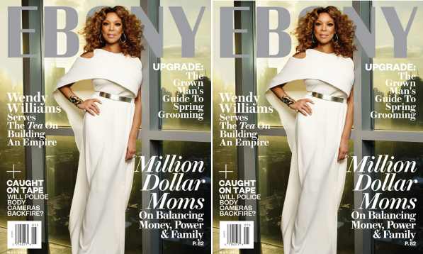 Wendy Williams Covers Ebony Magazine's May 2015 Issue