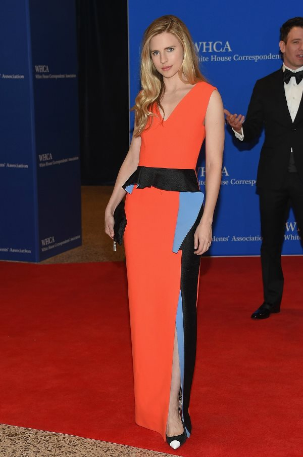 White House Correspondents Dinner - Brit Marling LoveweddingsNG