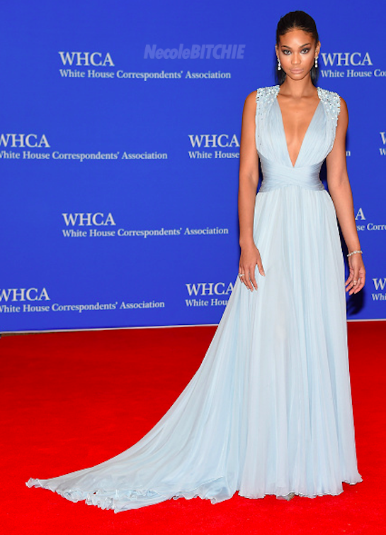 White House Correspondents Dinner - Chanel Iman LoveweddingsNG