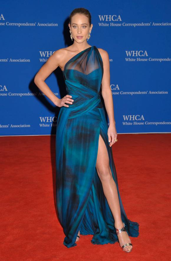 White House Correspondents Dinner - Hannah Davis LoveweddingsNG
