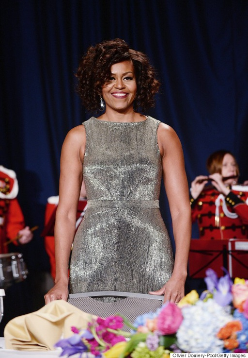 White House Correspondents Dinner - Michelle Obama LoveweddingsNG